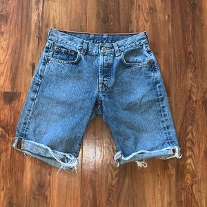 Vintage cut off Lucky brand jean shorts size 8